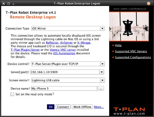 ios - T-Plan Robot Documentation